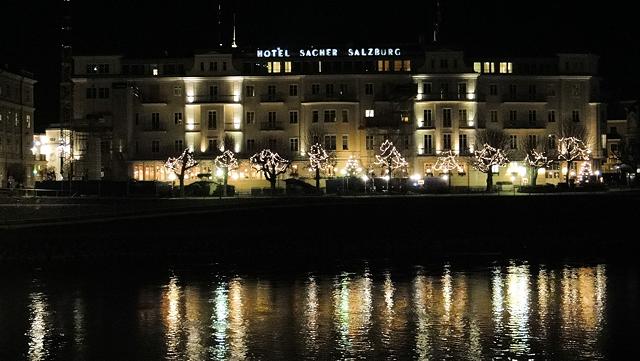 Hotel Sacher hvor man kan kjøpe autentisk Sachertorte