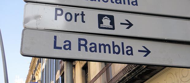 La Rambla i Barcelona