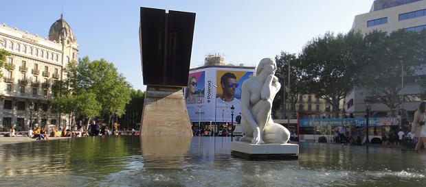Stemning fra Placa Catalunya
