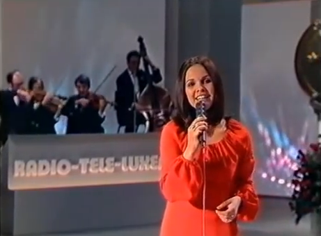Anne-Marie David, Eurovision Song Contest 1973.