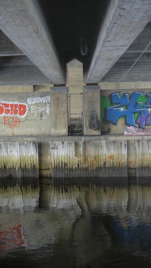 Et kunstnerisk uttrykk under motorveien