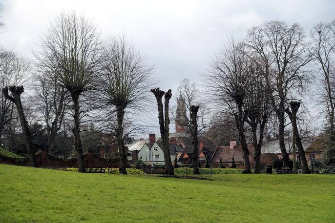 Fra Castle Park, Colchester.